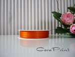 5 Meter Doppelsatinband 3 mm orange